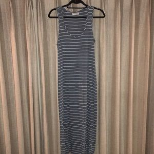Super cute striped soft Maxi dress